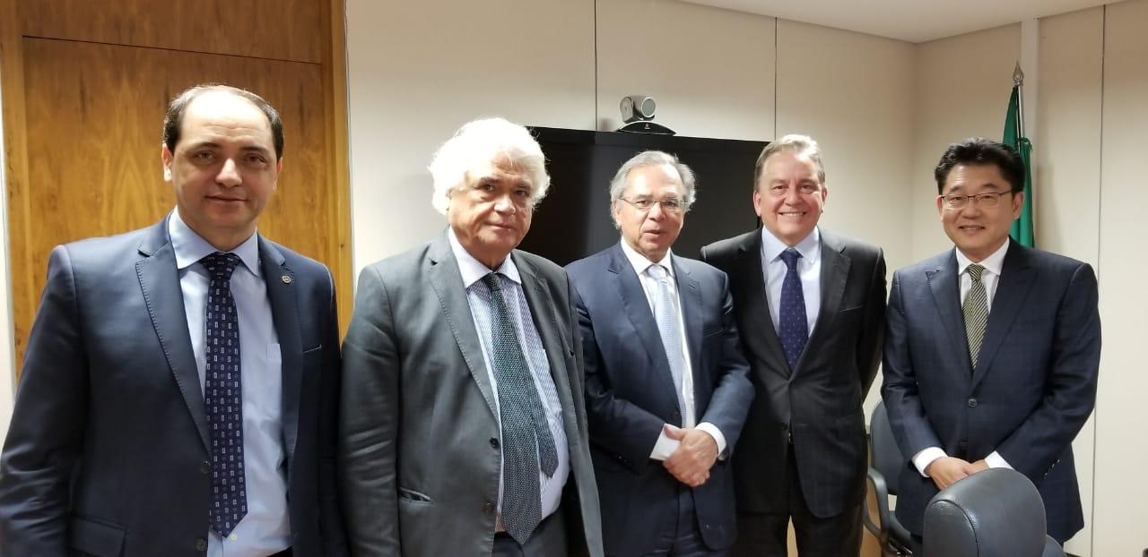 I. Atlântico entrega, em Brasília, proposta de Reforma Tributária