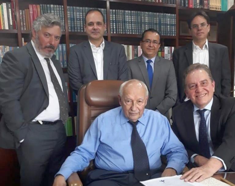 Ives Gandra Martins se reúne com o Instituto Atlântico